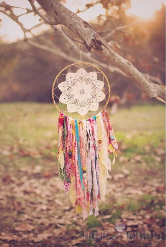 DIY Gypsy Soul Dreamcatcher