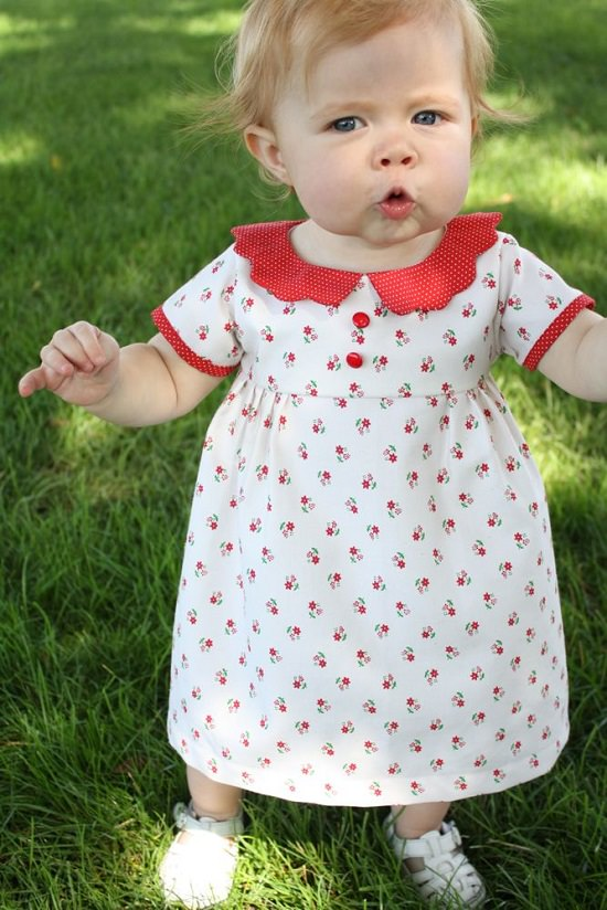 Vintage Heirloom Dress diy baby clothes