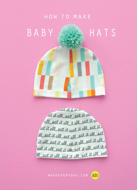 Baby Hat Tutorial