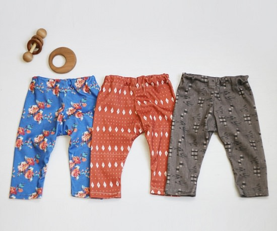 Easy DIY Baby Clothes 1