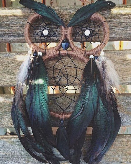 DIY Owl dream catcher
