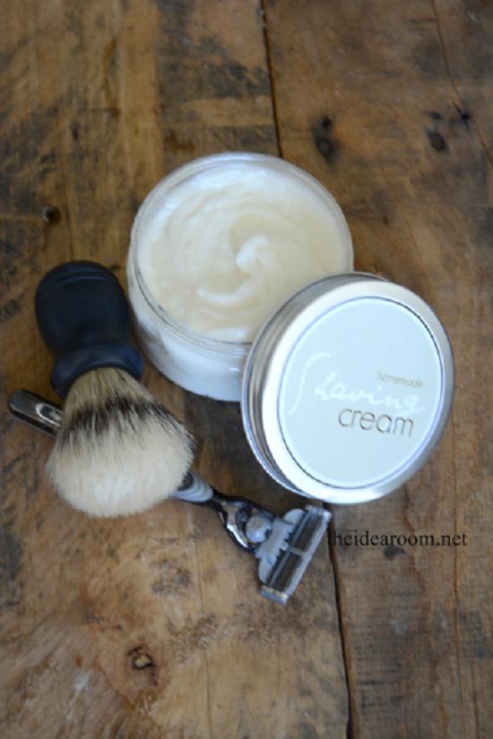 Homemade Shaving Cream 1