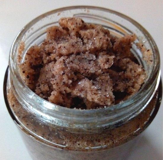 Sugar Scrub With Coffee