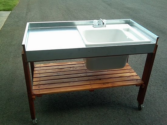 DIY Outdoor Sink Ideas2