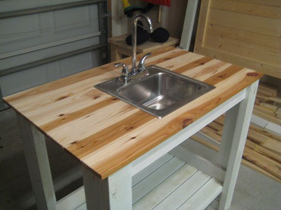 DIY Outdoor Sink Ideas4