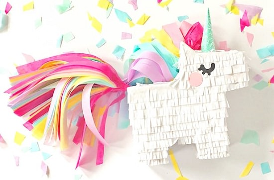 DIY Unicorn Pinata Ideas 1