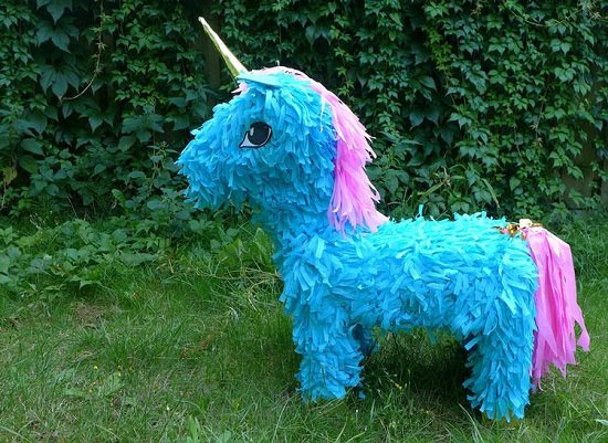 DIY Unicorn Pinata Ideas 3