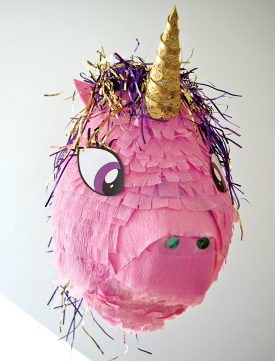 DIY Unicorn Pinata Ideas 4