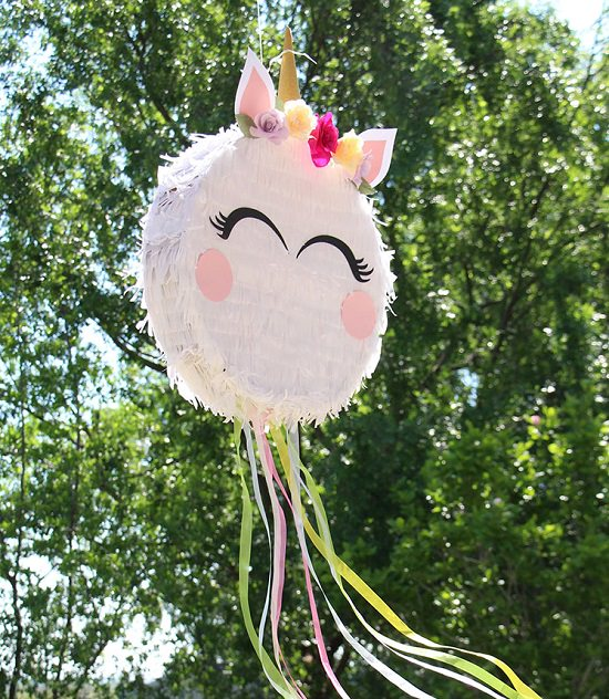 DIY Pull String Piñata