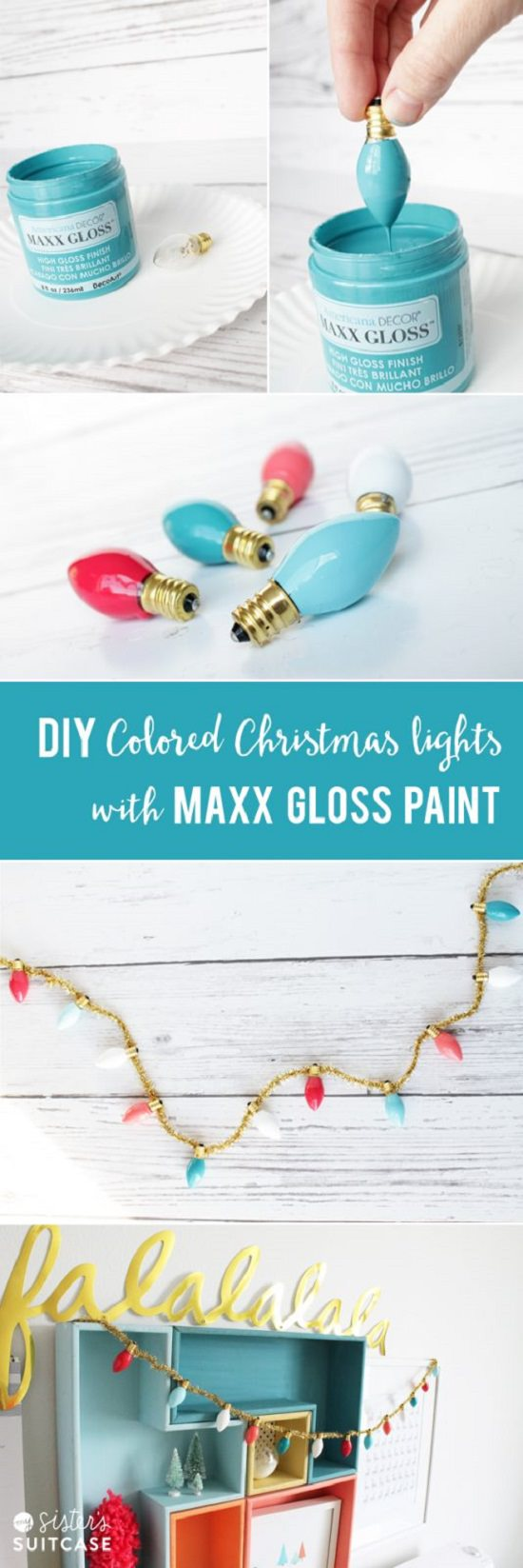 diy christmas decorations ideas12