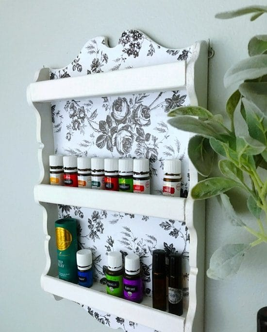 Spoon Rack Essential Oils Storage