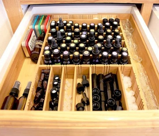 DIY Essential Oil Storage Ideas 3