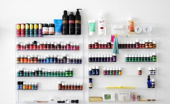 DIY Essential Oil Storage Ideas 4