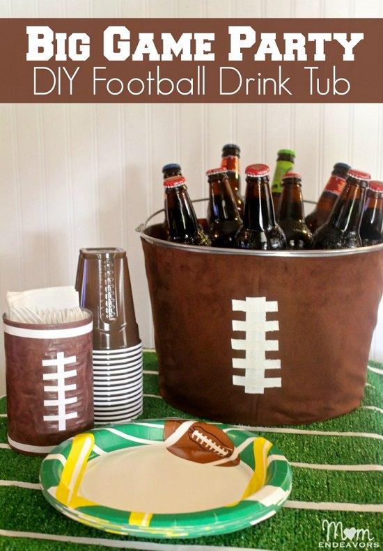 DIY Football Basket Ideas 2