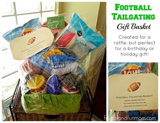 Football Tailgating Gift Basket