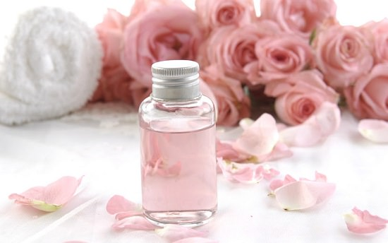 Rose makeup remover