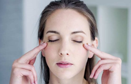 Massage Around Eyes