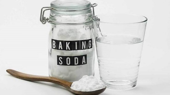 Baking Soda Water Mix