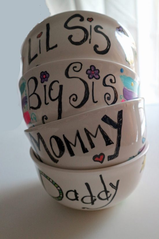 Personalized Bowl Painting Ideas