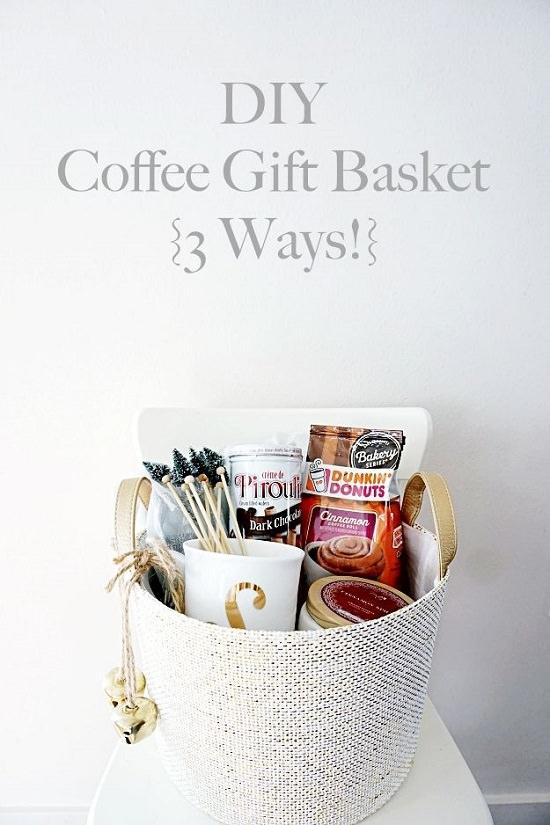 Coffee Gift Basket Ideas3