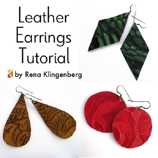 How To Make Leather Earrings4