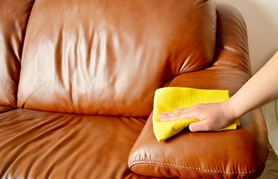 How to Clean Faux Leather Couch2
