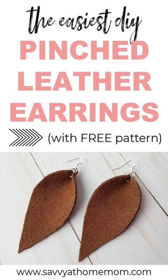 How To Make Leather Earrings7