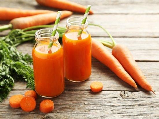 Carrot Juice for Dark Circles1