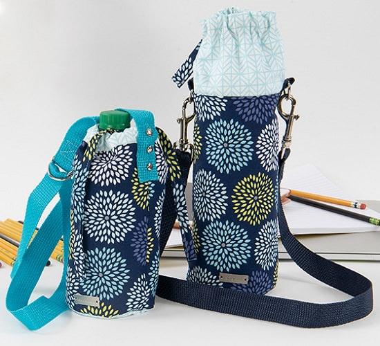 Trendy Sewn Bottle Holder