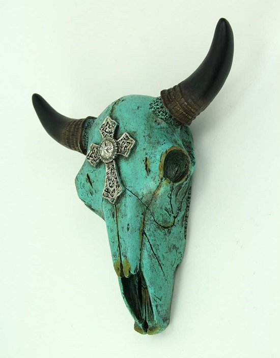 Painted Cow Skull Ideas1