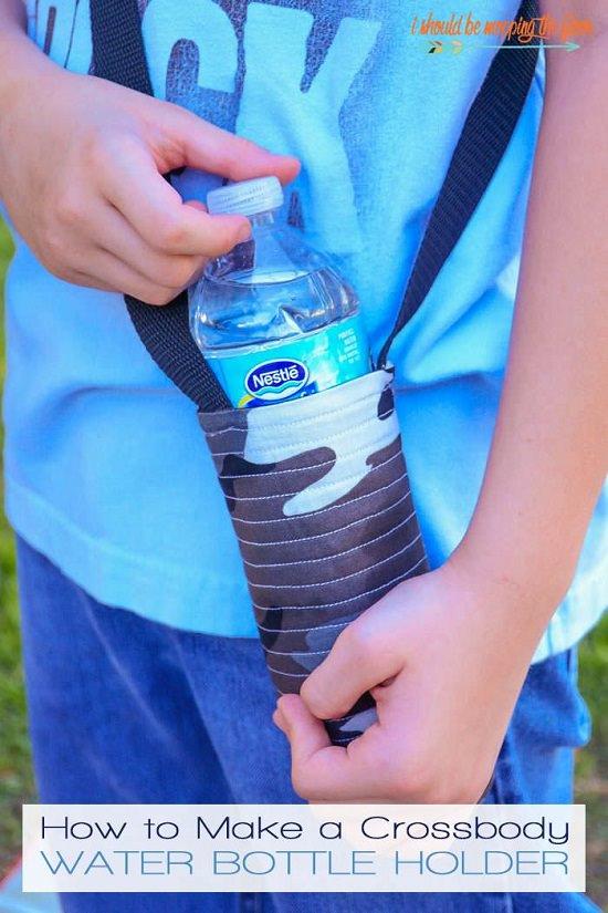Cross-Body Water Bottle Holder