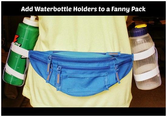 Fanny Pack Bottle Holder