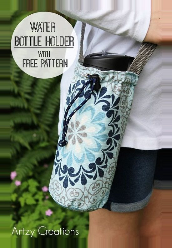 DIY Water Bottle Holder Ideas4