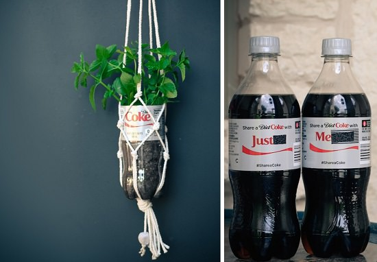 Macrame Hang and Carry Bottle Holder