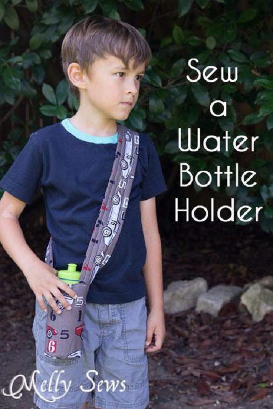 Sewn Sling Bottle Holder