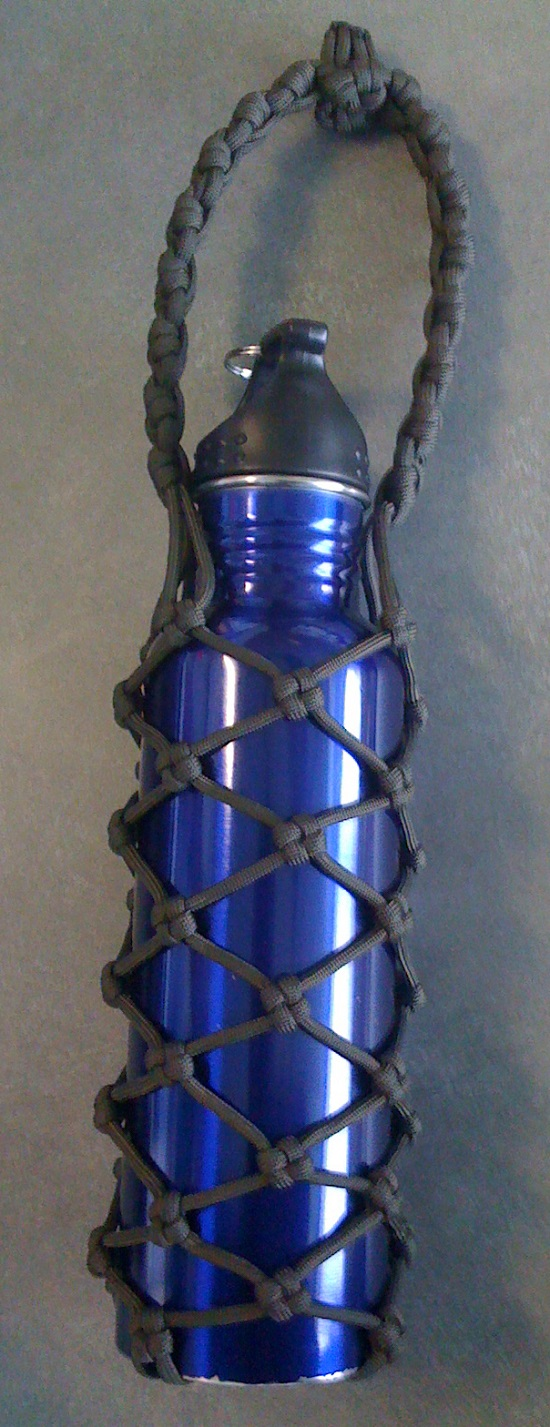 Paracord Bottle Cover