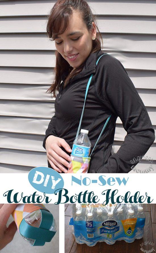 Easy No-sew Holder DIY