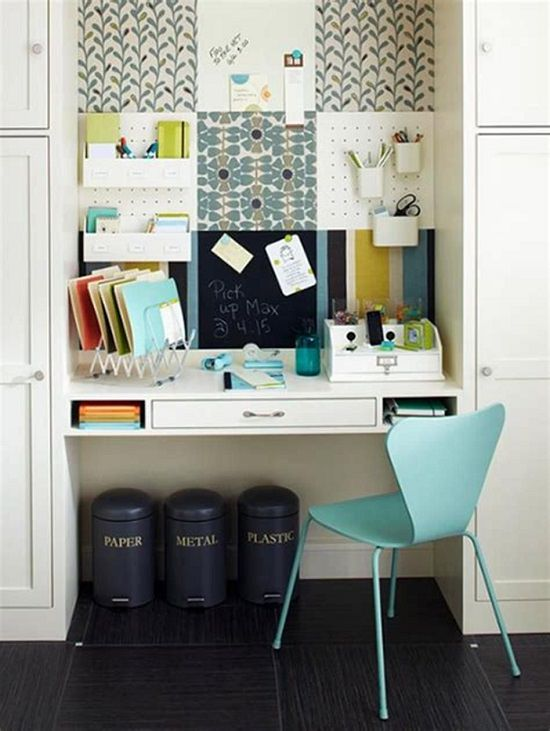 Small Space Home Office Ideas You'll Drool Over1