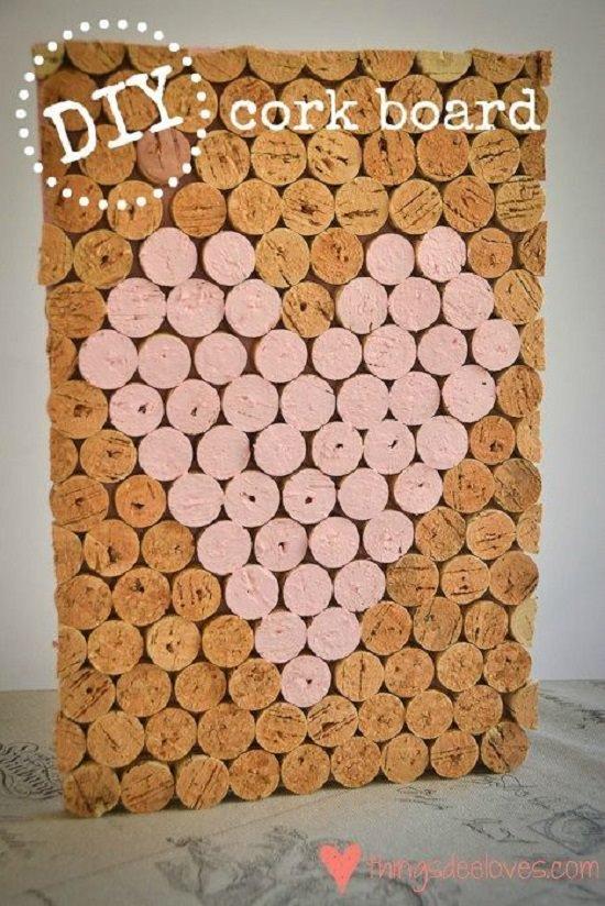 Cork Board Painting Ideas5