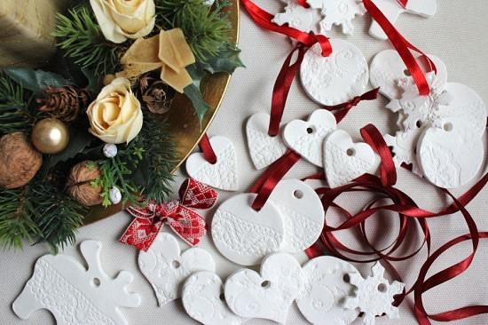 Air Dry Clay Ornaments and Tags