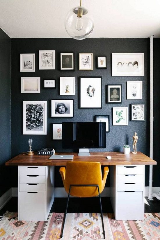 Small Space Home Office Ideas You'll Drool Over6
