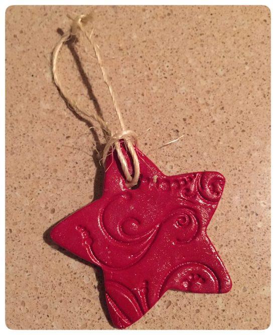 Air Dry Clay Ornament Ideas4