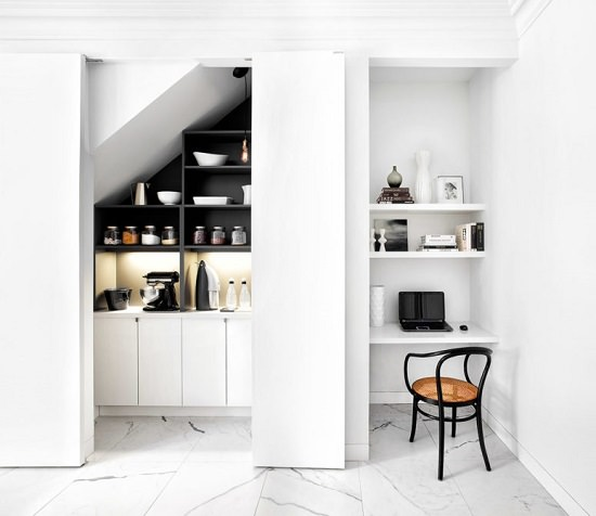 Use That Awkward Corner for Home Office