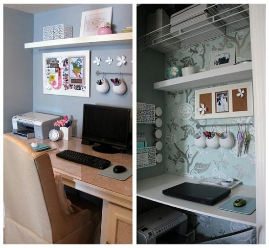 Small Space Home Office Ideas You'll Drool Over2