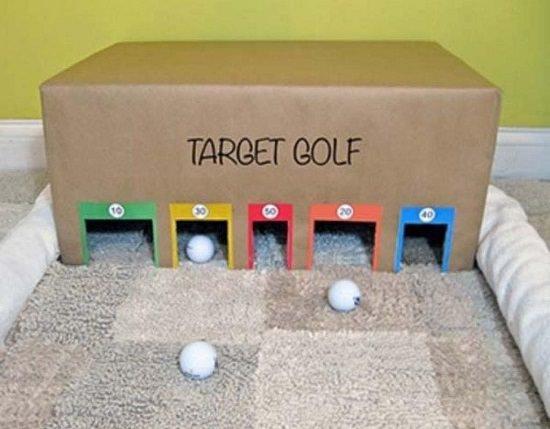 Target Golf Box