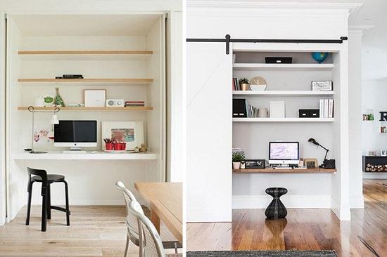 Make a Secret Home Office
