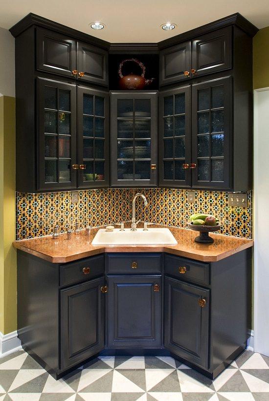 Corner Kitchen Sink Ideas5