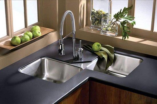 Corner Under-mount Sinks