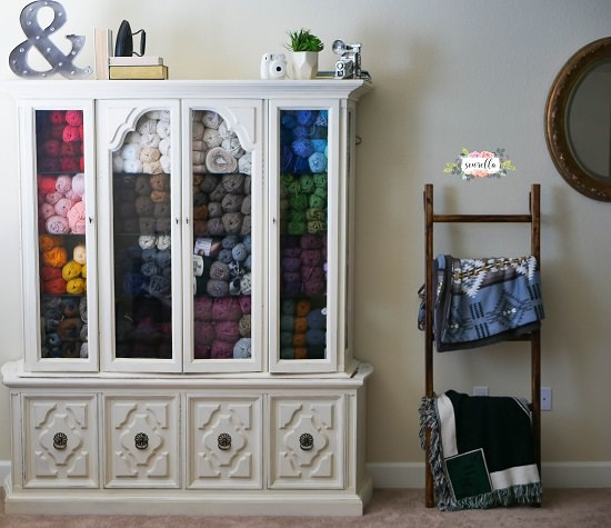 Craft Room Yarn Storage Ideas4