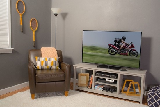 Open-Concept TV Stand
